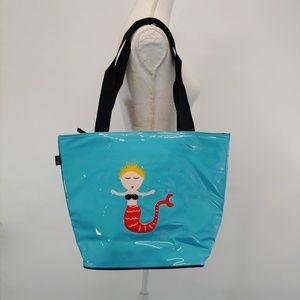 Mermaid Insulated Bag Leenie Cute Lunch Tote